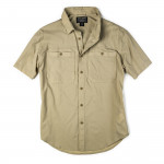 Alagnak Short Sleeve Shirt in Sand Bar