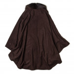 Ladies Stella Cape With Fur