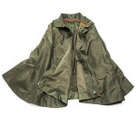 Rain Poncho Tornado in Forest Green