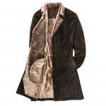 Men's Suede Shearling Coat