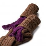Molland Shooting Sock in Brown
