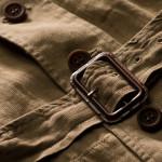 Safari Jacket in Beige