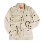 Selous Safari Jacket in Sand Stone
