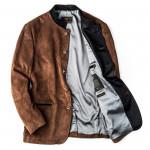 Men's Ferdi Austrian Suede Jacket in Tobacco