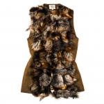 Ladies St. Petersburg Fur Gilet