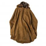 Ladies St. Petersburg Cape - Brown Fur