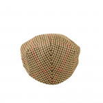 Kinloch Tweed Cap in Hounds Tooth Check