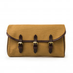 Redfern Cleaning Pouch with Accessories in Sand & Dark Tan