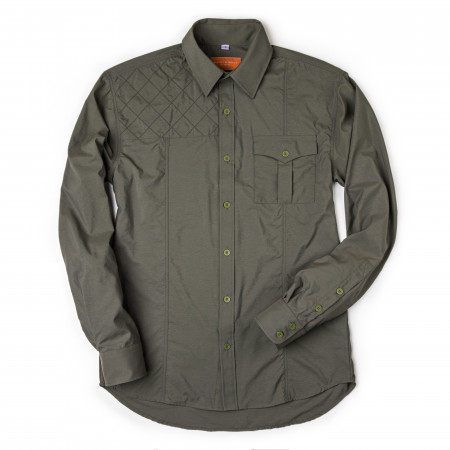 Game Scout Technical Safari Shirt in Woodland