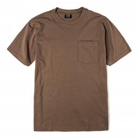 Short Sleeve Outfitter One-Pocket T-Shirt in Dark Mushroom