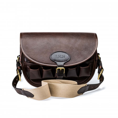 Anson Express Front Loaders Bag in Dark Tan