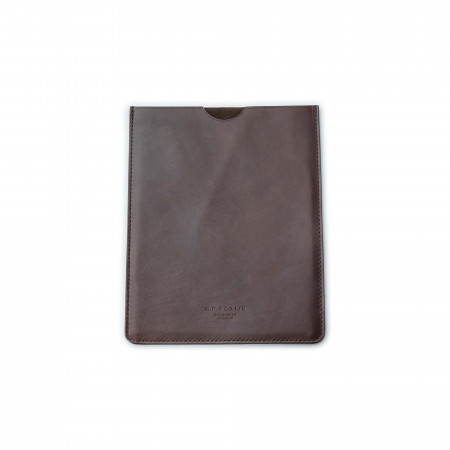 Leather Ipad Case in Dark Tan