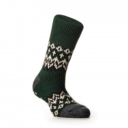 Nordic Socks in Dark Green