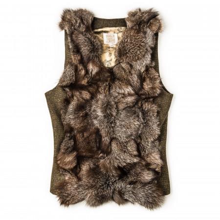 Ladies Short St. Petersburg Fur Gilet