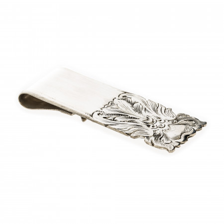 Ornate Swirl Money Clip