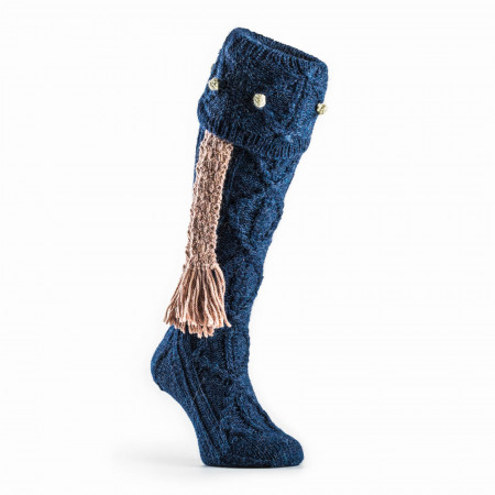 Brigands Shooting Sock in Royal Blue