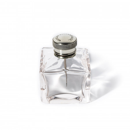 Square Glass Oil Flask