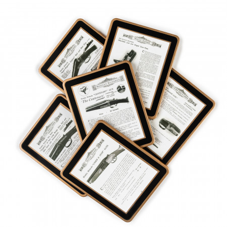 Westley Richards Centennial Coasters Shotgun Set