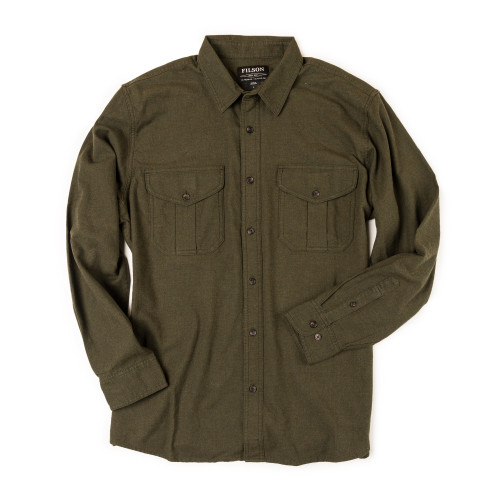 Lightweight Alaskan Guide Shirt in Dark Olive