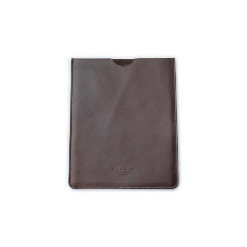 Leather Ipad Case in Dark Tan