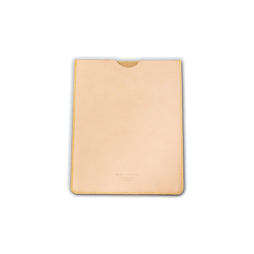 Leather Ipad Case in Natural