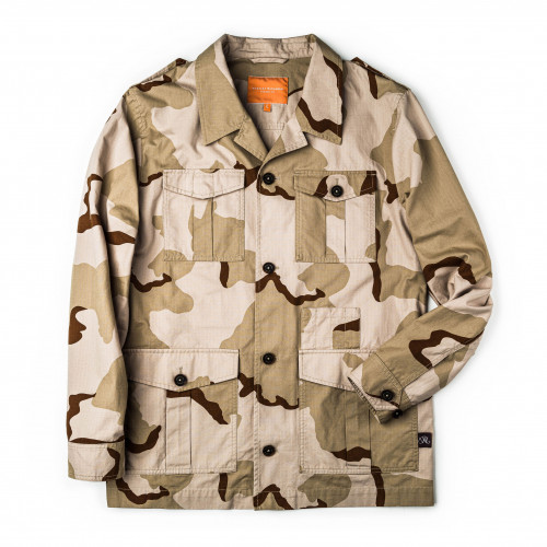 Safari Travel Jacket in Desert Camouflage