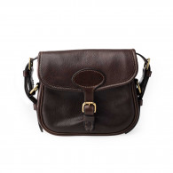 "W.R. & Co. ""Perfecta"" Cartridge Bag - Dark Tan"