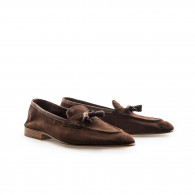 Edward Green & Co Portland Loafer- Baby Calf Suede