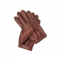 W. R. & Co. Perforated Leather Shooting Gloves - LH