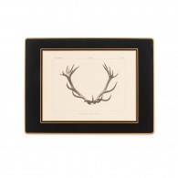 W.R. & Co. Antler Print Traditional Place Mat - Stag