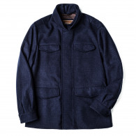 Doriani Men's Virgin Wool Field Coat