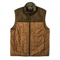 Filson Ultra Light Weight Vest in Dark Tan