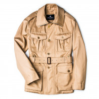 Grenfell Malborough Coat - Biscuit