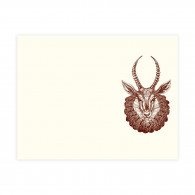Alexa Pulitzer Madame Gazelle A2 Notecards - Set of 10