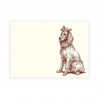 Alexa Pulitzer Royal Retriever A6 Note Cards - Set of 10