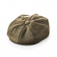 Westley Richards Redford Tweed cap in Earlston Green