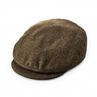 W. R. & Co. Bond Tweed Cap in Lanton Country Check