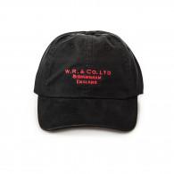 Twill Logo Cap -  Black