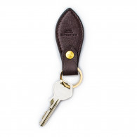 W. R. & Co. Leather Key Fob - Ostrich