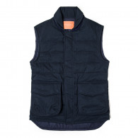 Westley Richards Pathfinder Quilted Gilet in Midnight