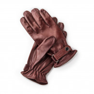 W. R. & Co. Leather Shooting Gloves - Tan - LH