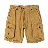 Westley Richards Safari Shorts in Brushed Beige