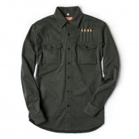 Westley Richards Expedition Shirt in Brushed Bush Green