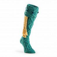 Westley Richards Brigands Shooting Sock in Teal Green