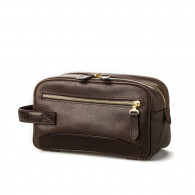 Westley Richards Bournbrook Wash Bag in Dark Tan