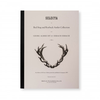 W. R. & Co. Limited Edition Set of 30 Red Stag and Roebuck Antler Prints
