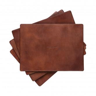 Westley Richards Leather Place Mat Set