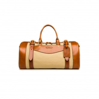 Westley Richards Small Sutherland Bag in Safari and Mid Tan