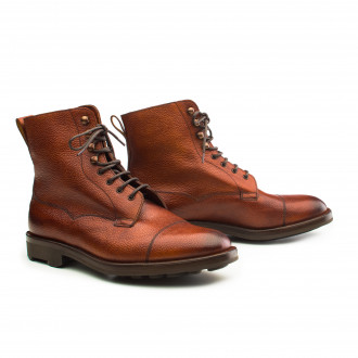Edward Green Galway Rosewood Country Boot