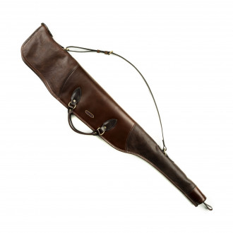 Westley Richards Scoped Taylor Rifle Slip in Dark Tan Patterned